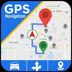 GPS Navigation & Maps - Directions, Route Finder Icon