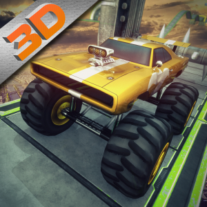 3D Grand Monster Truck : Impossible Derby Stunt Icon