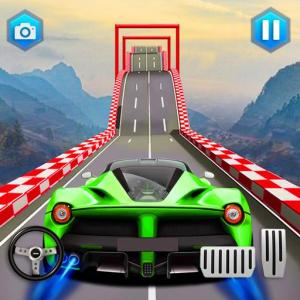 Impossible Car Tracks: GT Racing Car Jump Icon