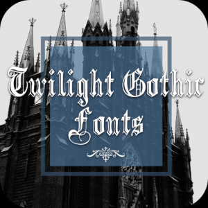 Twilight Gothic Font for FlipFont ,Cool Fonts Text Icon