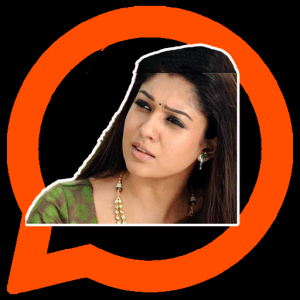Nayanthara Stickers App | Tamil What's Up Stickers Icon