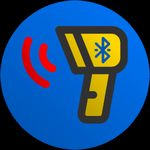 Wireless bluetooth barode scanner & Data collector Icon