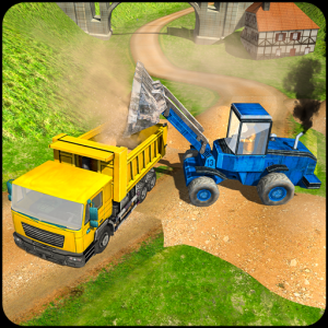 Offroad 3D Construction Game Icon