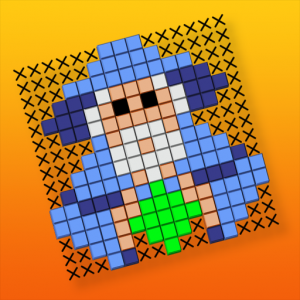 Picture Cross Simple Mosaics Icon