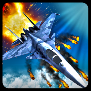 Air Force Jet Fighter Combat Icon