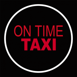 On Time Taxi Icon