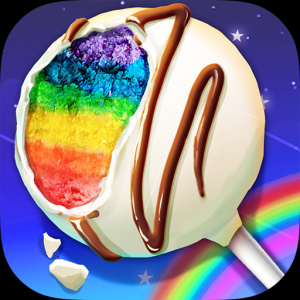 Rainbow Desserts Bakery Party Icon