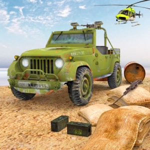 Drive Army Truck Check Post: Army Transport Games Icon