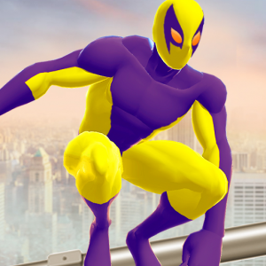 Strange City Spider Frog Rope Hero: Grand Vice Ops Icon