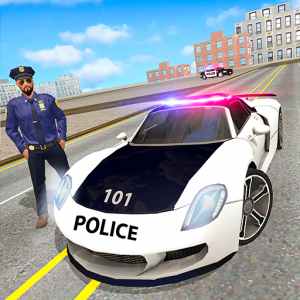 Police Chase Car Driving Simulator : Cops Car Game Icon