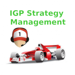IGP Manager Strategy Management Icon