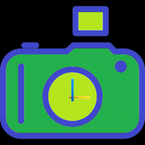 SnapTime : Silent Stamp Camera Icon