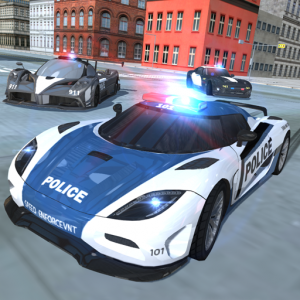 Police Car Simulator - Cop Chase Icon