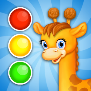 Learn colors for toddlers! Kids color games! Icon