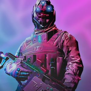 Neon Soldier: Cyberpunk style shooter ? Icon