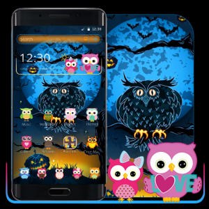 Halloween Night Owl Theme Icon