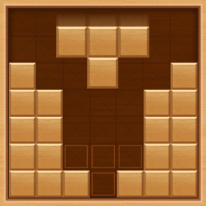 Wooden Block Puzzle : End Game Icon