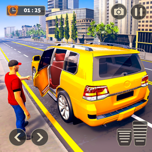 Real City Taxi Driving: New Car Games 2020 Icon