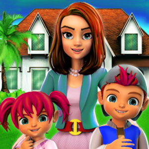 Dream Virtual Mom Hotel Manager 3D Icon