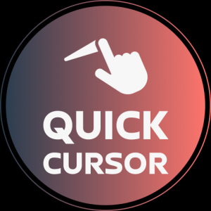 Quick Cursor: one hand mouse pointer Icon