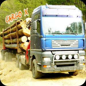 Pk Wood Cargo Truck Driver Icon