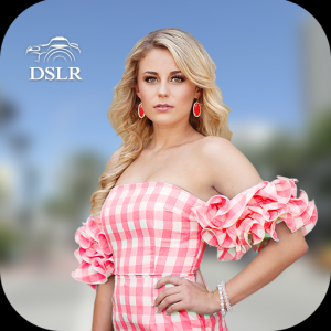 DSLR Camera Ultra HD Blur Effect Photo Editor Icon