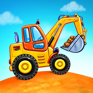 Truck games for kids - build a house, car wash Icon
