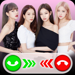 Black pink call you: Fake Video Call Icon
