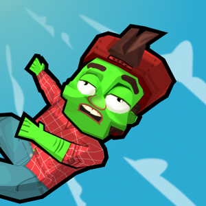 Zombie Fall 3D Icon