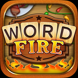 WORD FIRE: FREE WORD GAMES WITHOUT WIFI! Icon