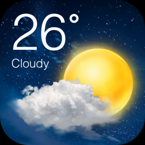 Accurate Weather Forecast App & Radar Icon