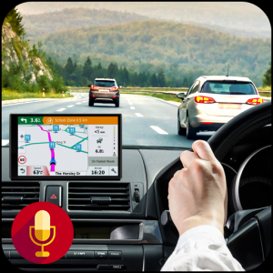 GPS Navigation Maps & Voice Direction Route Finder Icon