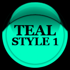 Teal Icon Pack Style 1 ✨Free✨ Icon