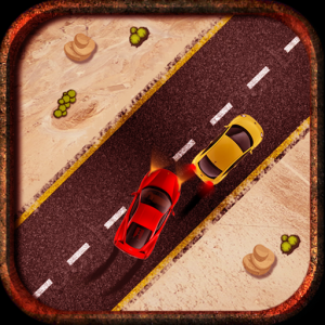 Mad Car Drive 2D: Crazy Driver Icon