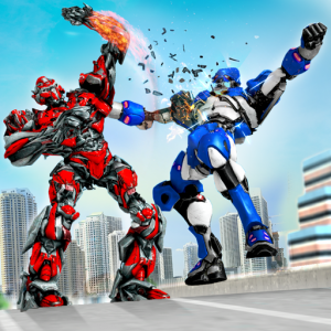 Grand Robot Ring Battle: Robot Fighting Games Icon