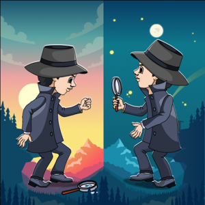Find the differences – Offline 250 Levels Free Icon