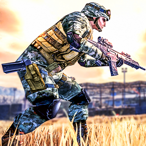 Modern Action commando operation: new fps games Icon