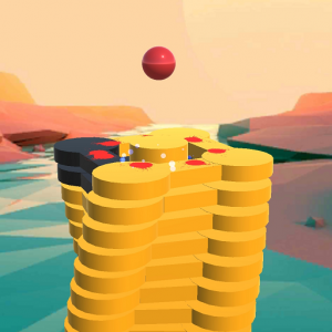 The Stack Tower : Ball Fall game 3d stick blocks ☄ Icon