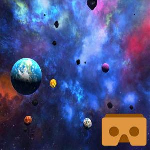 VR Space 3D Icon