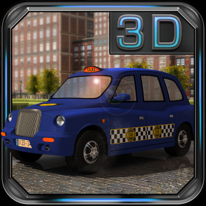 London Taxi 3D Parking Icon