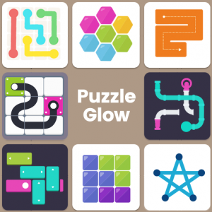 Puzzle Glow : Brain Puzzle Game Collection Icon