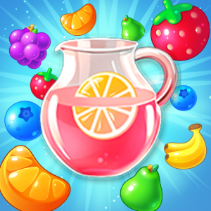 New Sweet Fruit Punch: #1 Free Puzzle Match 3 Game Icon