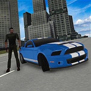 Crime City Street Driving 3D Icon