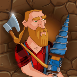 Digging Miner Lumber Jack – Idle Clicker Game Icon