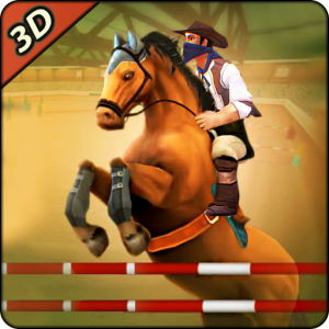 Derby horse Riding Finish Quest Race Jump Icon