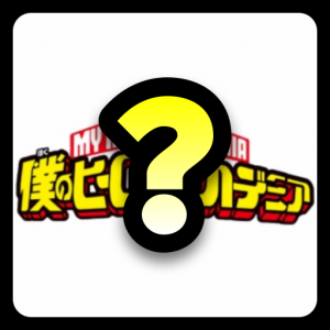Guess My Hero Academia Character Icon