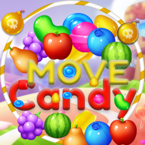 Candy Move Icon