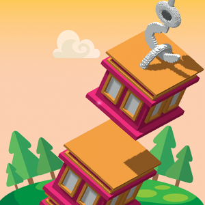 Tower Builder - Stack them up Icon
