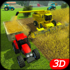 Real Tractor Farming game 21 Icon