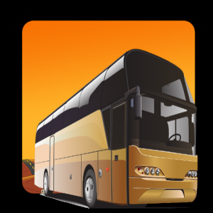 Real City Bus Driving 3D Icon